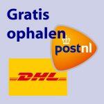 Verzenden PostNL DHL Gratis ophalen Webshop JE Uitvaart