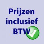 inclusief BTW Webshop JE Uitvaart